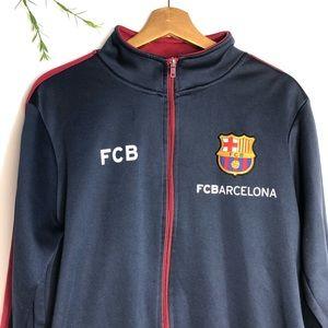 c5f7e6e8b2a Nike Jackets & Coats | Fcbarcelona Mens Soccer Zip Up Size M | Poshmark